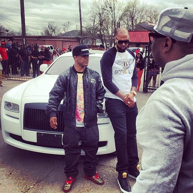 Slim Thug Show The World Video Shoot
