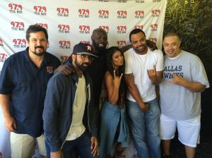 Mila J with The Madd Hatta Morning Show