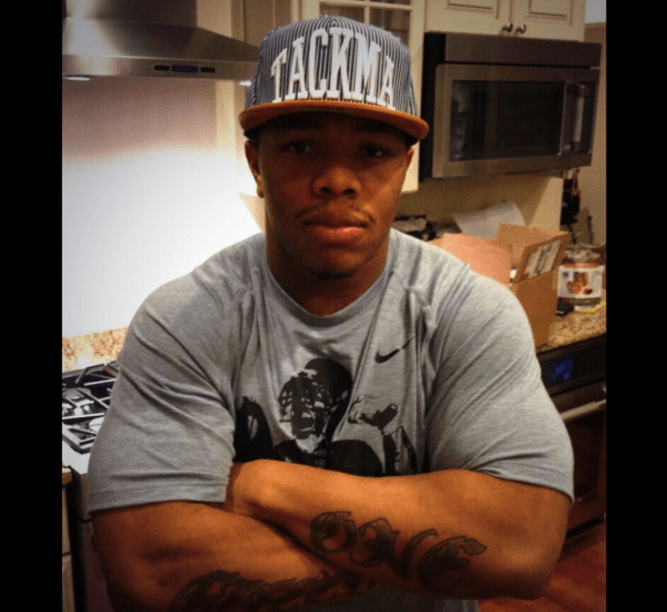 Photo From Ray Rice Twitter Page