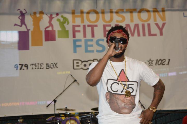 Omarion At #FitFamFest [PHOTOS]