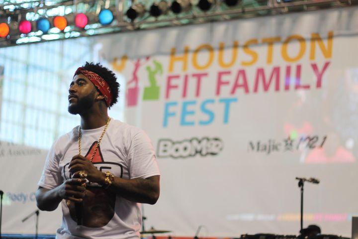 Houston Fit Family Fest Artist