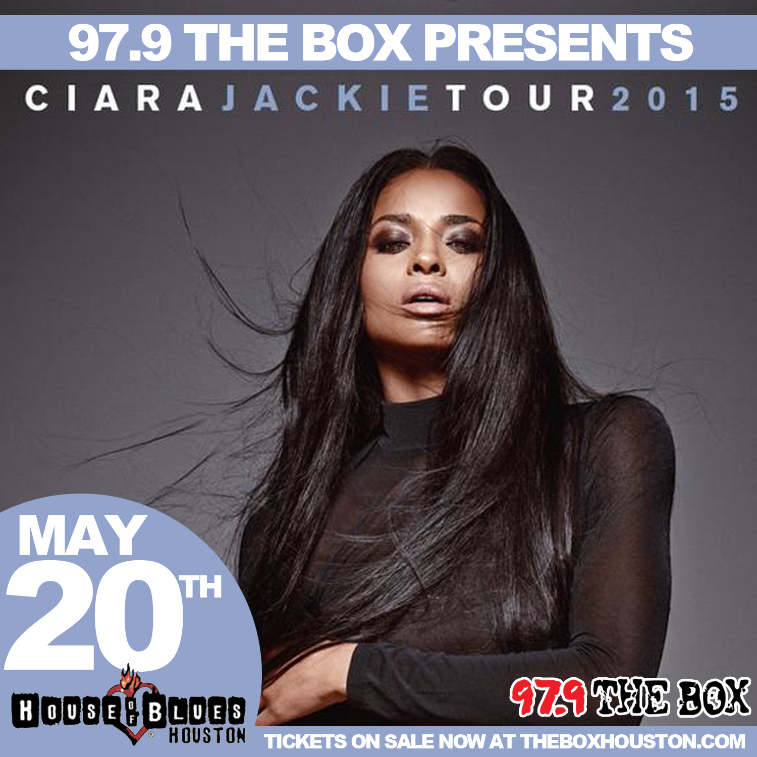 Ciara Jackie Tour Flyer