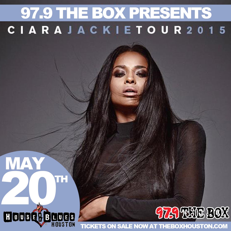 Ciara Jackie Tour Flyer