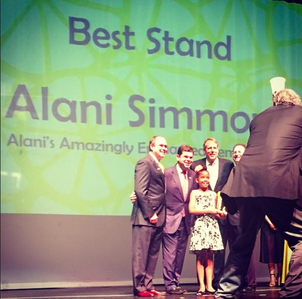 Alani wins big