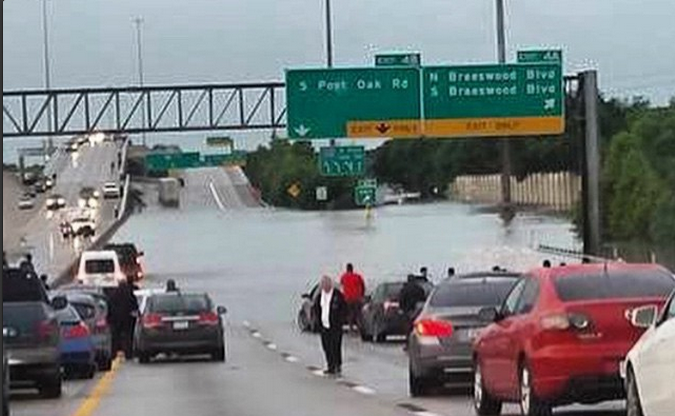Flood Photo In Houston