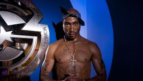 Tupac Shakur & Notorious B.I.G. Wax Figure Unveiling At Madame Tussauds DC