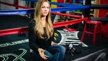 GLENDALE, CA - FEBRUARY 18, 2015 - UFC bantamweight champion f