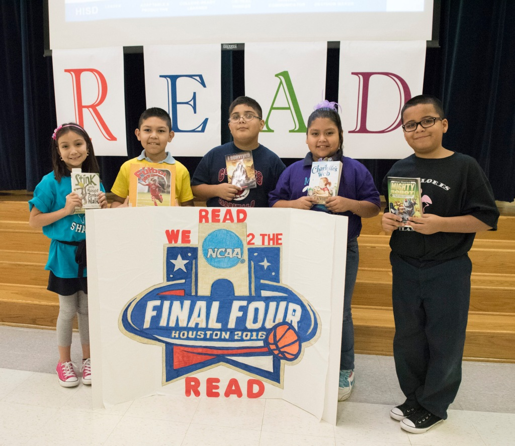 Read to the Final Four Literacy Program