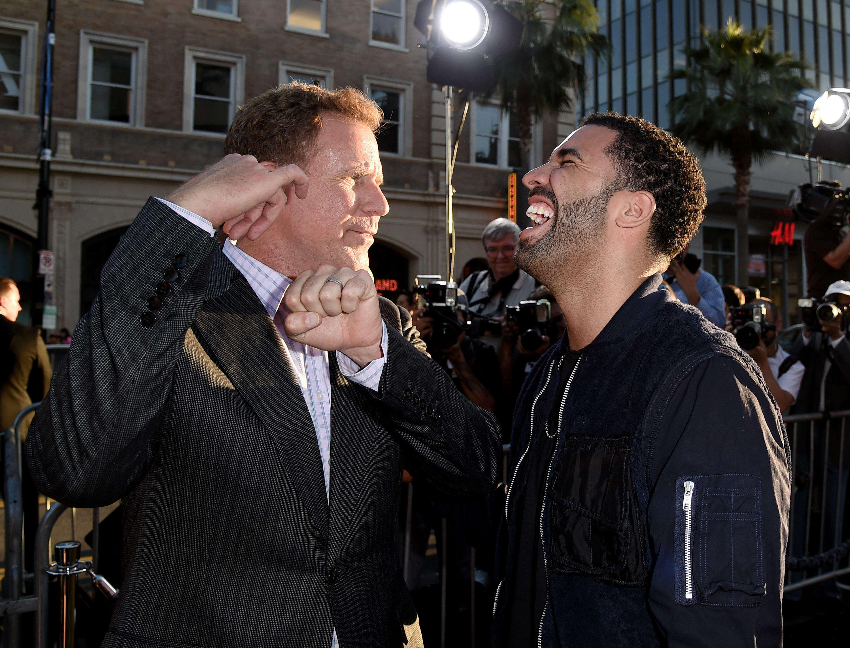 Drake, Will Ferrell