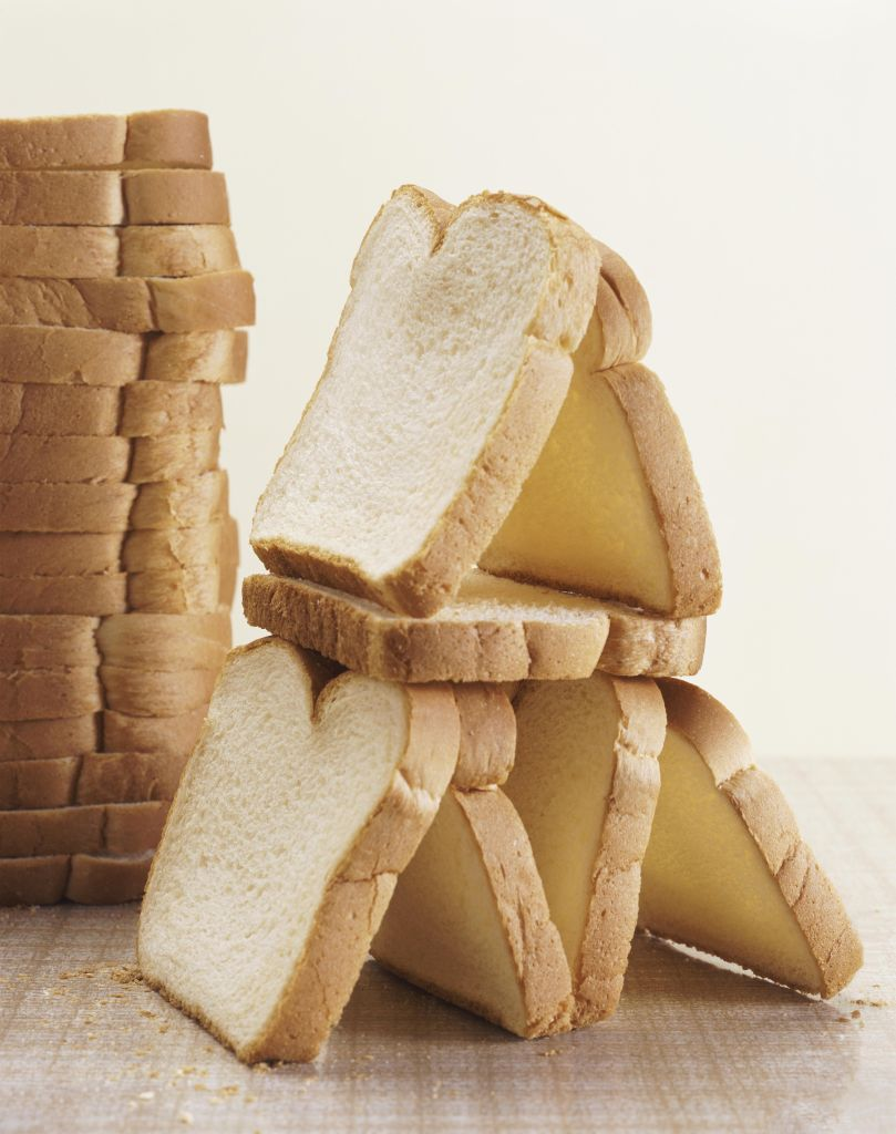Still Life With Slices of White Bread