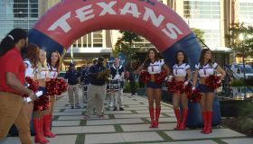 Texans Playoff Pep Rally