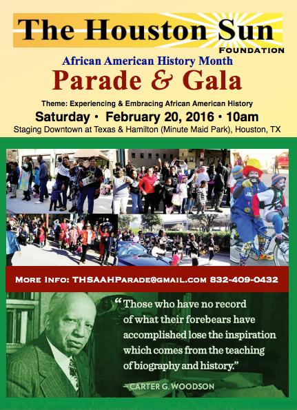 The Houston Sun Parade & Gala