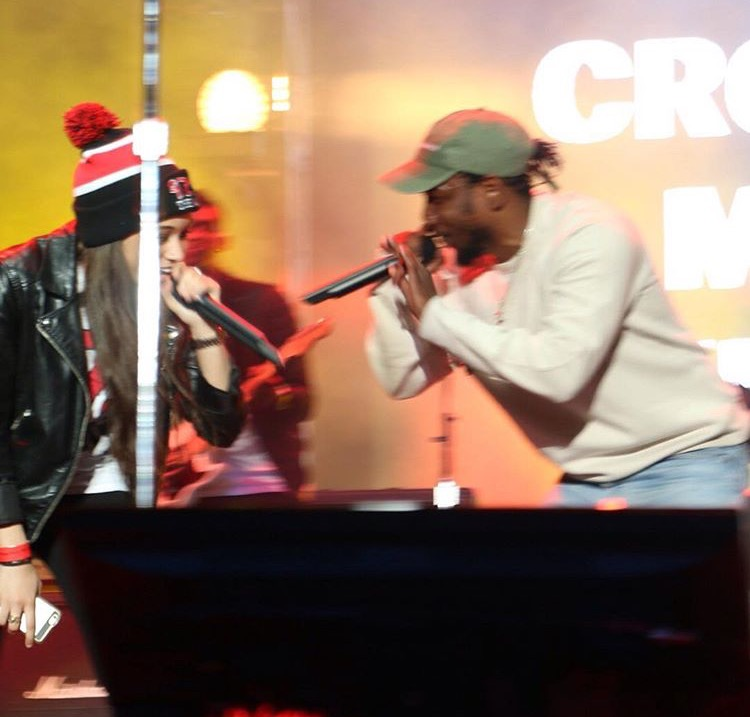 Kendrick Lamar fan fest Houston