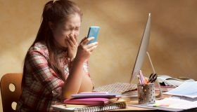Teenage bullying on smart phone