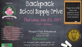 AKA Backpack School Supply Drive