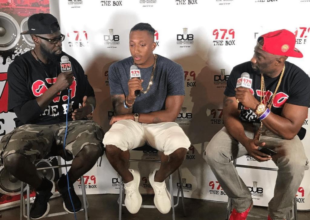 Lecrae at the 2017 Dub Car Show