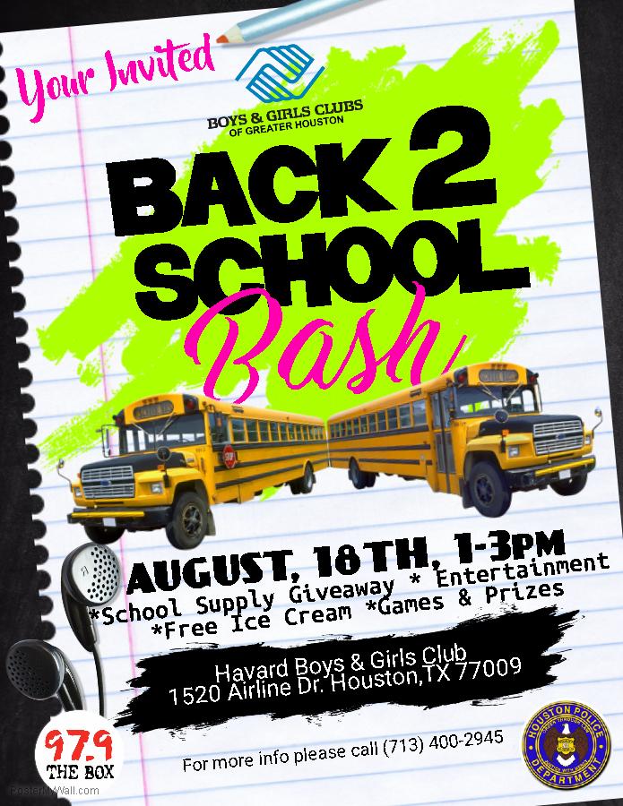 Boys & Girls Club Back 2 School Bash