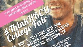 2017 AKA #ThinkHBCU College Fair