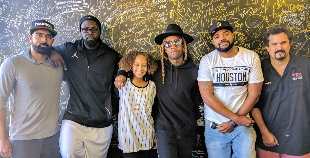 Ty Dolla Sign with the Madd Hatta Morning Show