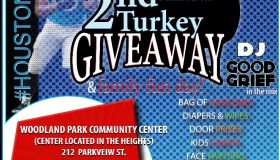 Russell Shepard 2nd Annual Turkey Giveaway