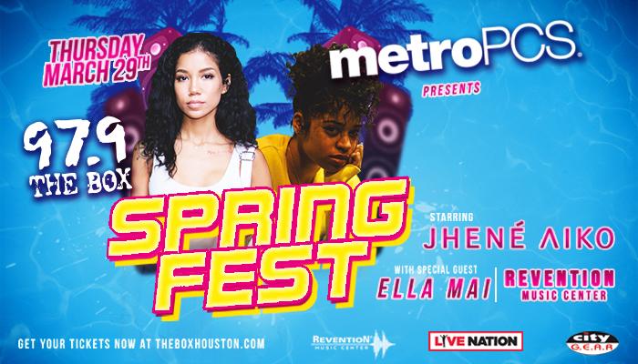 MetroPCS Spring Fest Jhene Aiko Ella Mai