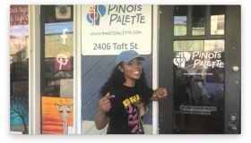 Keisha Nicole Socially Active Paint N Sip