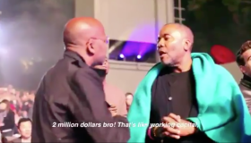 Damon Dash vs Lee Daniels
