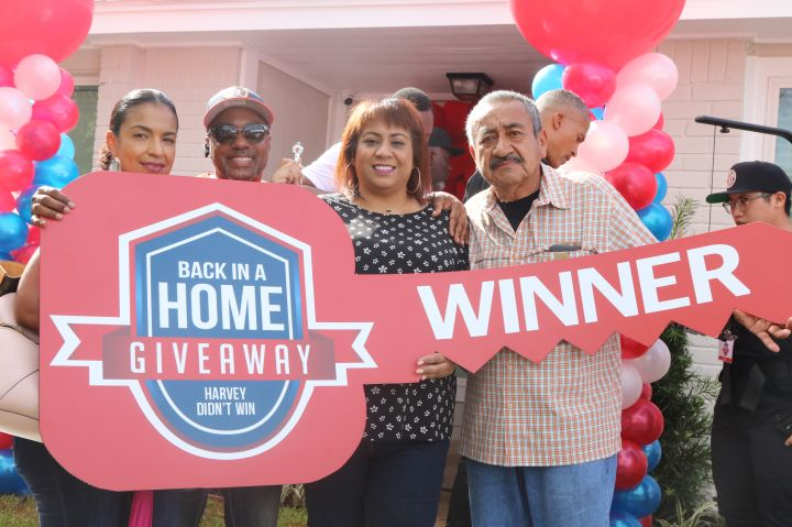 Harvey Didn't Win Back In A Home Giveaway Announcement