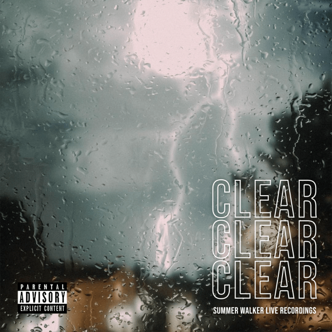 Summer Walker Clear EP Cover