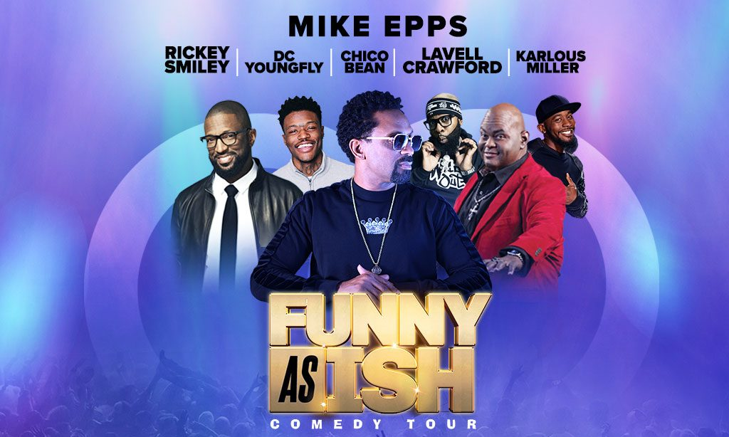 """MIKE EPPS """"FUNNY AS ISH TOUR"""" TEXT-TO-WIN Sweepstakes"""