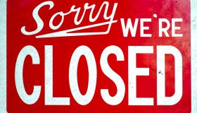 Sorry WE`RE CLOSED