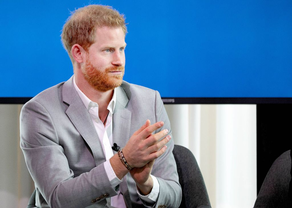 Prince Harry in Amsterdam, The Netherlands