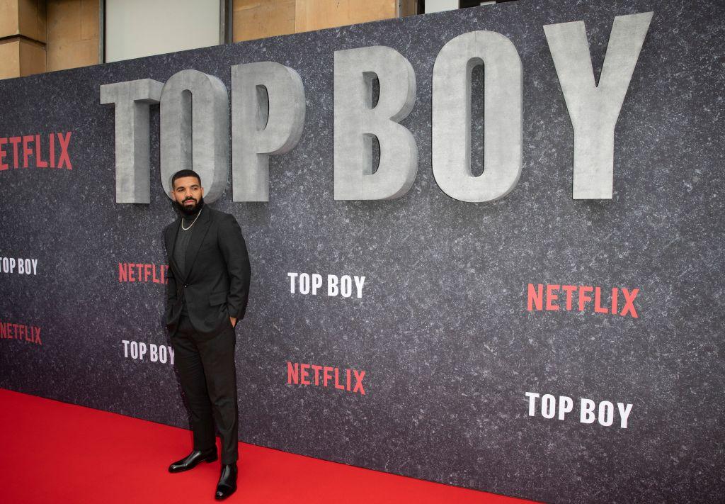 Drake Attends Top Boy Netflix Premier