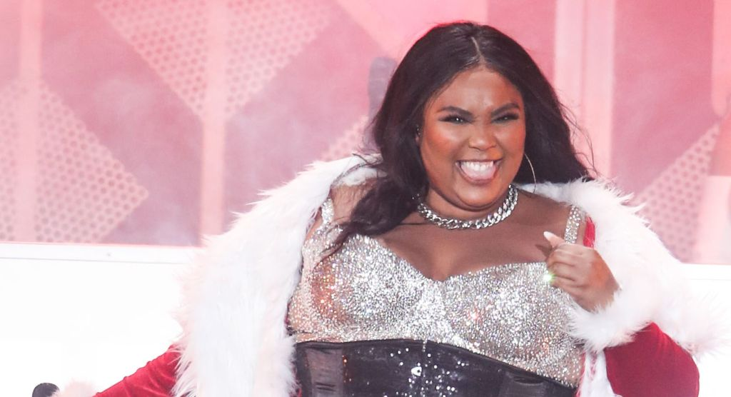 Singer Lizzo performs at 102.7 KIIS FM's Jingle Ball 2019 held at The Forum on December 6, 2019 in Inglewood, Los Angeles, California, United States.