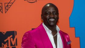 Akon attends the red carpet of the 2019 MTV EMAs, Europe Music Awards, at Fibes Conference & Exhibition Centre in Seville, Spain, on 03 November 2019. | usage worldwide