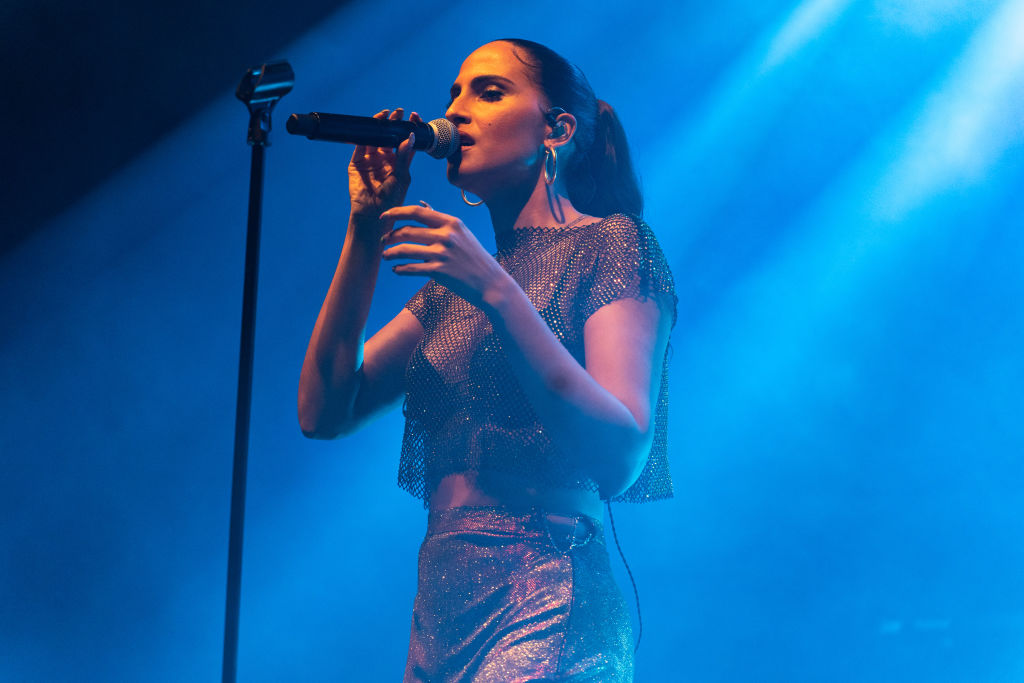Snoh Aalegra Performs At O2 Shepherd's Bush Empire, London