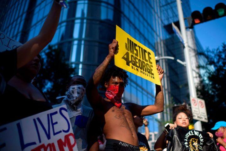 George Floyd Protest - Houston