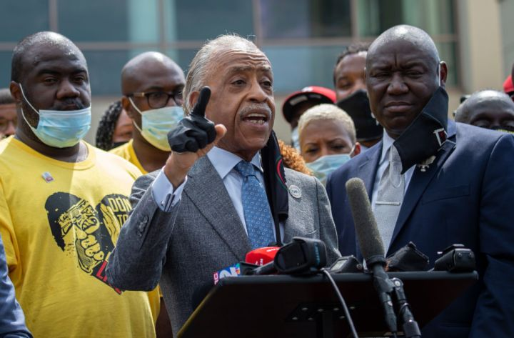 Rev. Al Sharpton & Benjamin Crump
