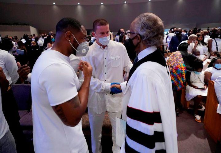 Rev. Al Sharpton & Channing Tatum