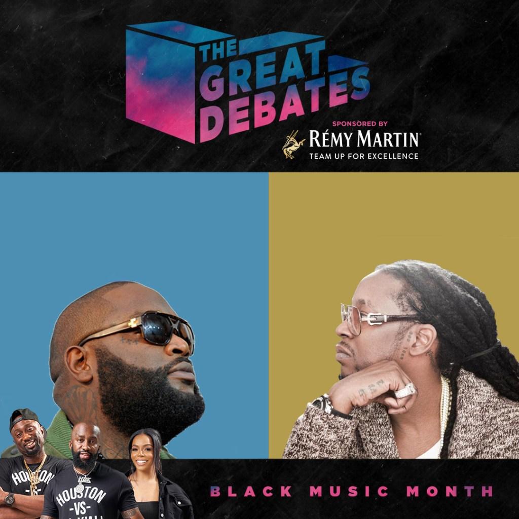 Great Debates - Rick Ross vs 2 Chainz