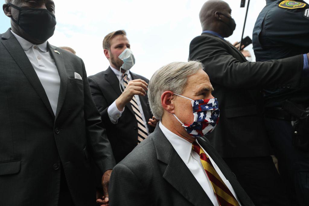 Public Memorial For George Floyd Held In Houston