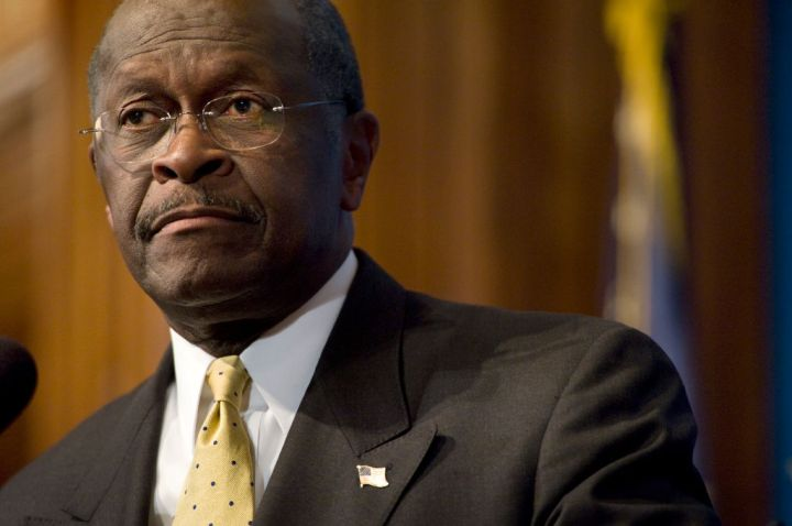 Republican Presidential Nominee Herman Cain Speaks At National Press Club
