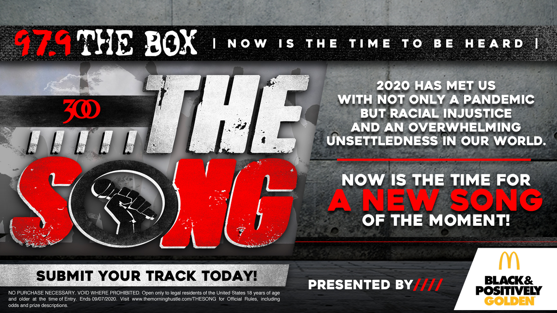 """""""The Song"""" Contest KBXX"""