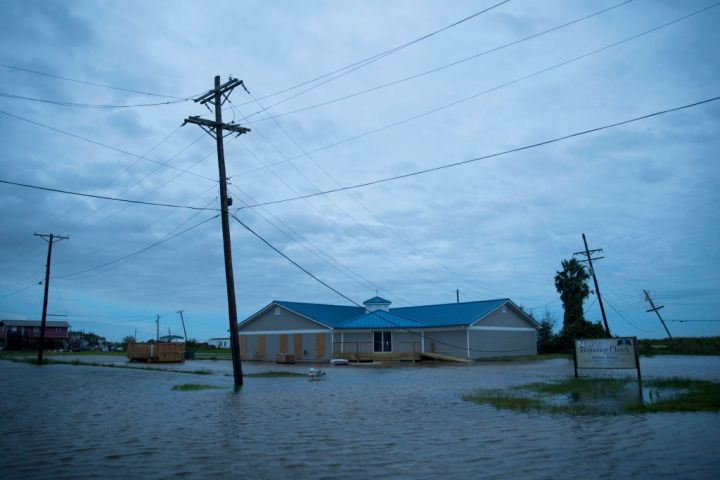 Hurricane Laura Makes Landfall On US Gulf Coast