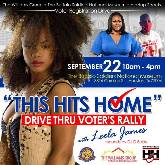 Voters Registration Drive With Leela James
