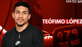 Teofimo Lopez Interview Graphic