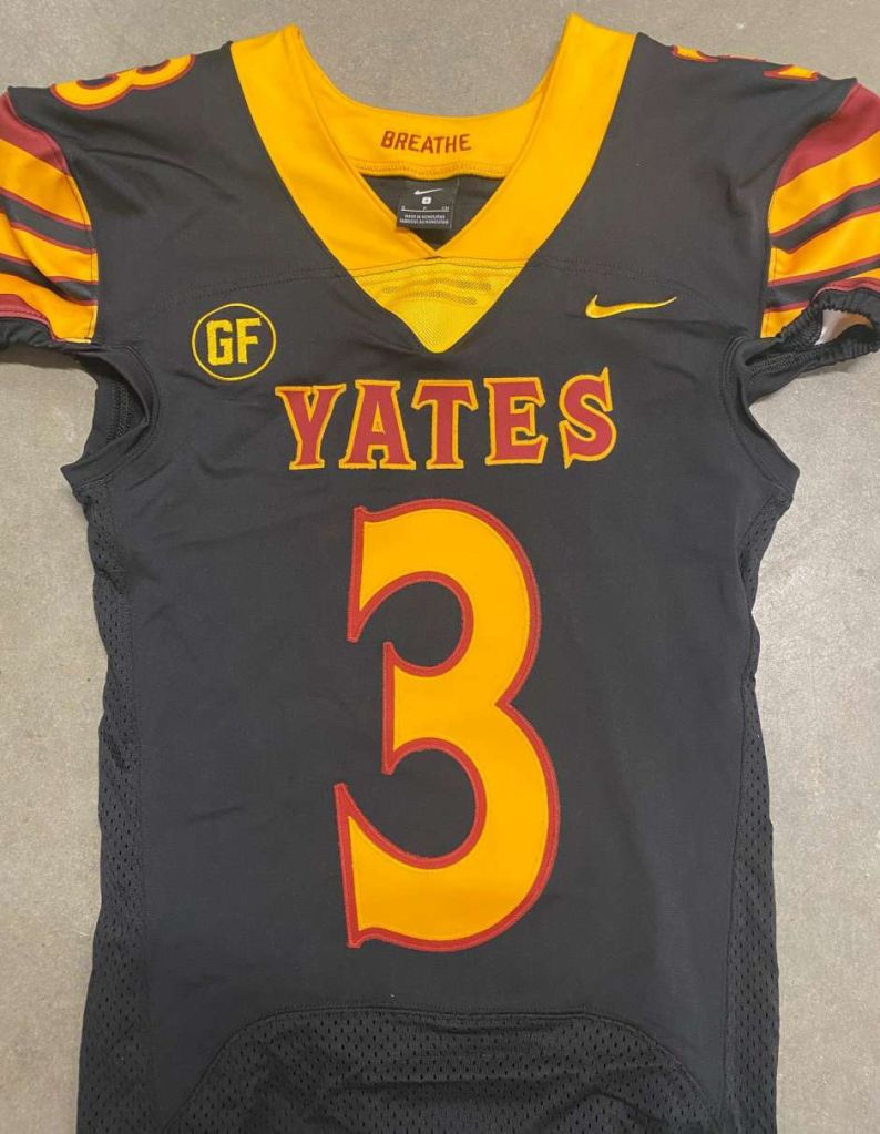 Yates Football George Floyd Jersey