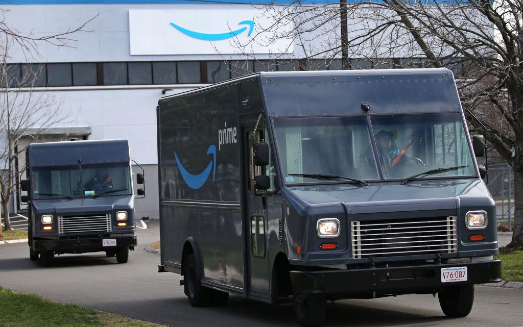 Amazon Warehouse in Revere