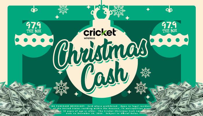 Cricket Christmas Cash