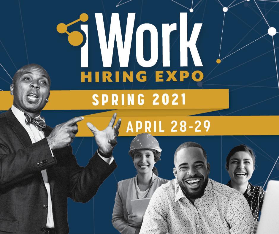 Workfaith Connection: iWork Spring 2021 Virtual Event